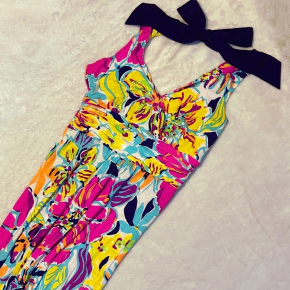 a264b835bc0d65 Lilly Pulitzer Dresses   Amanda Maxi Dress In Besame Mucho   Poshmark